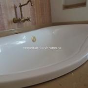 Реставрация мраморной ванны фото