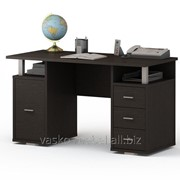 Письменный стол двухтумбовый ПС 40-07 Венге фото