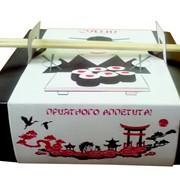 Упаковка для суши и роллов фото