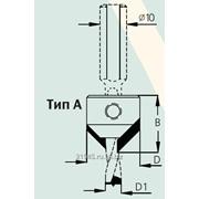 Сверло-зенковка коническое тип А - зенковка крепится на спирали W.P.W. AC3080R фото