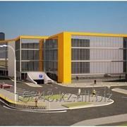 Строительство супермаркетов, складов, ангаров под ключ фото