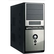 Корпус без блока питания Super Power Q3336-A2 Black-Silver фото