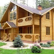 Дома деревянные строительство фото