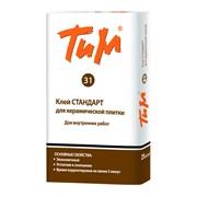 Клей Стандартный для керамической плитки «ТИМ 31» фото