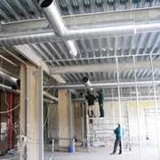 Монтаж систем кондиционирования и вентиляции, отопления. фото