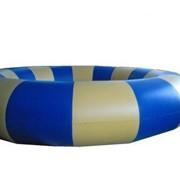 Бассейн надувной круглый для аттракционов фото