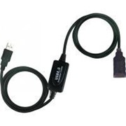 Дата кабель подовжувач активний USB2.0 AM/AF Viewcon (VV 043-20м.) фото