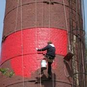 Капитальный ремонт и строительство дымовых труб; фото