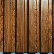 Профнастил плоский лист 1250мм, Пурал с 2-х сторон, 1250x1.2 мм фото