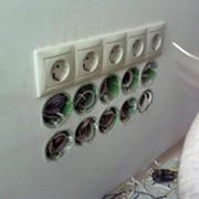 Перенос розеток выключателей.Проходные переключатели. фото