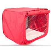 Выставочная палатка Красная фото