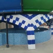 Декорации из бетона в аквапарках фото