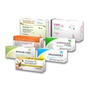 Упаковка из картона для таблеток, гранул и капсул фото