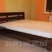 Кровати из массива – изготовление под заказ. фото