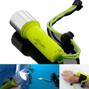 Фонарь подводный для дайвинга 1800LM CREE XM-L2 T6 LED 18650 фото