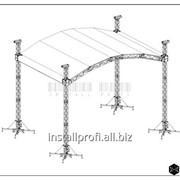 Крышные системы Install Profi 10х8 м. фото