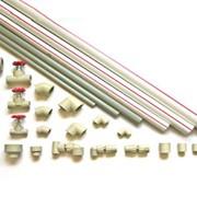 Трубы из полипропилена и соединительные детали к ним (фитинги) фото