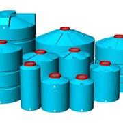 Пластиковые емкости из полиэтилена высокого давления предназначены для хранения и транспортировки дизтоплива, воды, пищевых продуктов и агрессивных сред фото
