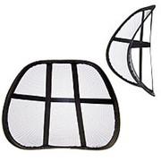 Подушка для спины и поясницы, без массажера, черная фото