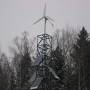 Ветросолнечный электрический комплекс (ВЭК) фото