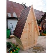 Туалет деревянный для дачи фото