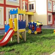Детские горки для игровых площадок фото