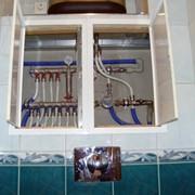 Врезка в водопроводный стояк фото