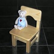 Детский стульчик деревянный размер 18 фото