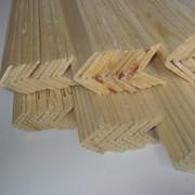 Уголок деревянный 30х30, 45х45 сосна, липа, ольха фото