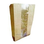 Бумажный пакет для еды на вынос фото