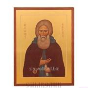 Икона св. прп. Сергий Радонежский фото