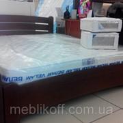 Кровати двухспальная из береста фото