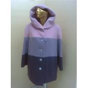 Стильное дамское пальто фото