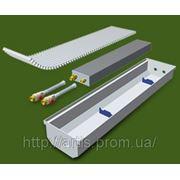 Конвектор (фанкойл) внутрипольный с естественной конвекцией КПЕ 240. фото