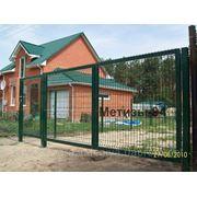 Ворота металличесикие фото