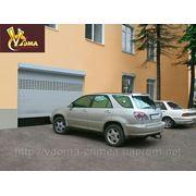 Роллетные гаражные ворота фото