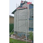 Вышка тура алюминиевая Krause ProTec 11.3 метра рабочая высота фото