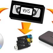 Перезапись видеокассет на любые носитетели информации фото