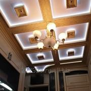 Кессонный потолок однокомпонентный Английский фото