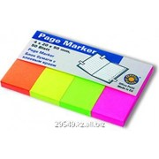 Бумага для заметок цветная с клеевым краем 100 лист 3*5 76*127 mm Dolphin фото