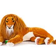 Игрушка мягконабивная Лев фото