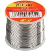 Припой Светозар оловянно-свинцовый, 60% Sn / 40% Pb, 250гр код SV-55323-250 фото