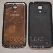 Крышка задняя черная для Samsung Galaxy S4 Mini i9190 | i9192 | i9195 | i9198 4604 фото