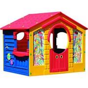 """Детский пластиковый домик """"Коттедж"""" Marian Plast 560 фото"""