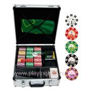 Покерный набор на 600 фишек с номиналом ГД4, 600 фото