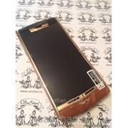 Телефон Vertu Signature Touch Bentley Brown Gold LTE + беспроводное з/у 86561 фото