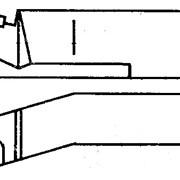 РЕЗЦЫ ТОКАРНЫЕ РАСТОЧНЫЕ ДЛЯ ГЛУХИХ ОТВЕРСТИЙ, ТИП 1, ИСП.2 ГОСТ 18883-73 фото