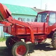 Тракторы Т-16 (с погрузчиком) фото