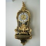 Часы в стиле Буль 1730г. (Франция) фото