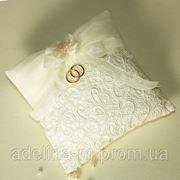 Свадебные подушки для колец фото
